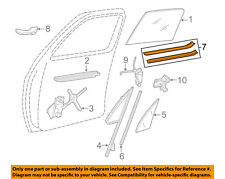 GM OEM Front Door-Weatherstrip Seal Right 14027776