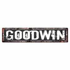 SLND0415 GOODWIN CAVE Street Chic Sign Home man cave Decor Gift