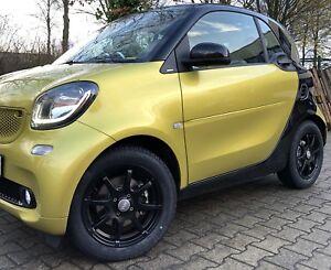 DBV Bali. II Alloy Wheels Black Smart 453 Winter Tyres Winter Tyres Factory New