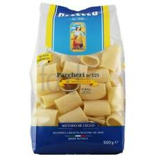 De Cecco paccheri nr 125 spaghetti da hartweizengriess senza uovo 500g