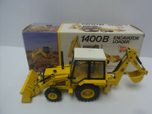 1/35 NZG JCB 1400B Excavator Backhoe Loader  #2771    In original box