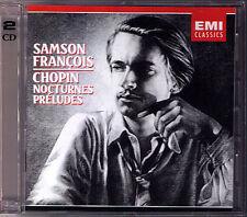 Samson FRANCOIS: CHOPIN 19 Nocturnes & 24 Preludes 2CD Nocturne Prelude EMI