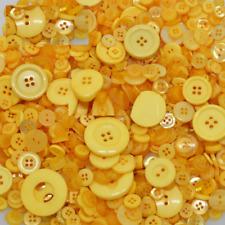 100 Bulk Orange Buttons  Assort Shapes Sizes 8~30mm Christmas