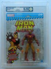 2017 Hasbro Marvel Retro 6 Inch Series 1 Iron Man AFA U9.25