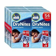 Huggies DryNites Pyjama Pants for Boys, Age 8-15 54 Pants Total