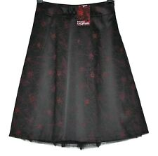 *MISS SELFRIDGE* PRETTY FLORAL SATIN AND TULLE SKIRT SIZE 8/10 BNWT £40