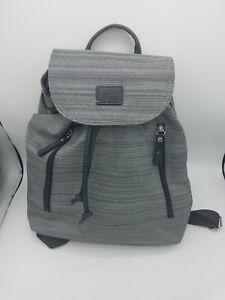 Roots 73 Ladies Gray Mini Backpack Bag Style R4820N
