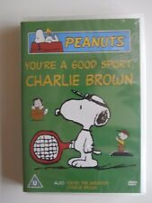 YOU'RE A GOOD SPORT, CHARLIE BROWN PAL Region 0 SEALED DVD PEANUTS Snoopy