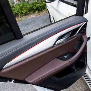 For BMW X3 G01 2018-2020 Interior Matte Door Armrest Stripe Cover Trim 4pcs