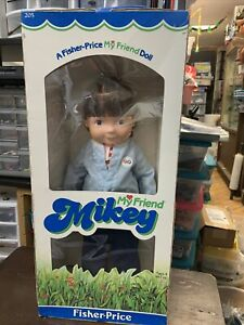 """Vintage MY FRIEND MIKEY Fisher Price 16"""" Doll with Clothes 1981"""