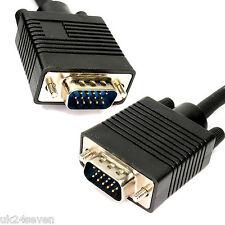 10m SVGA VGA Maschio a Maschio 15 Pin Cavo Lead PC Portatile Monitor TV LCD PLASMA