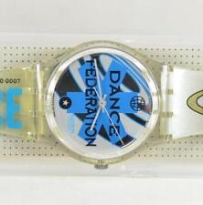 Swatch Classic 1995 Ice Dance Clear GK201 Watch New Old Stock NOS SW1.27