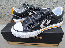 CONVERSE ALL STAR BAMBINO STAR PLAYER EV V3 OX 628187C JUNIOR PELLE N. 27