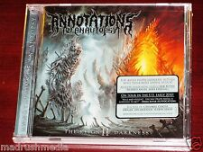 Annotations Of An Autopsy: The Reign Of Darkness CD 2010 Nuclear Blast USA NEW