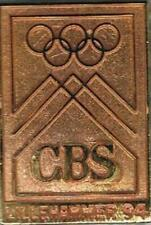 Dated 1994 Lillehammer CBS Olympic Media Pin