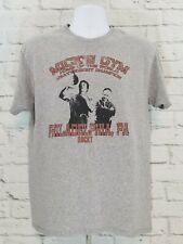 Mick's Gym Rocky Balboa Philadelphia PA Mens T-shirt Large Tee Gray Boxing A01