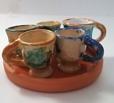 Himark Portugal Terra Cotta coffee Set 6 pieces Very nice