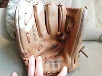 Korvette Leather LHT Baseball Glove Child's Glove Vintage
