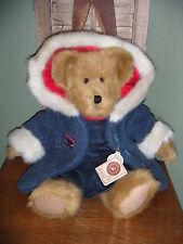 """Boyds Bears Plush 2002 ~16"""" Karina Burrbruin~ Dressed For Winter Bear"""
