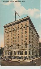 Early 1900's The Hotel Hermitage in Nashville, TN Tennessee PC