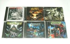 Lot of 6X CD's / THRASH/DEATH METAL/Rigor Mortis/Vader/Poltergeist/NEW'