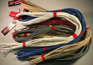 """Rawlings/Tanners Baseball Glove Lace 3/16"""" x 72 Inch Multiple Colors Available"""