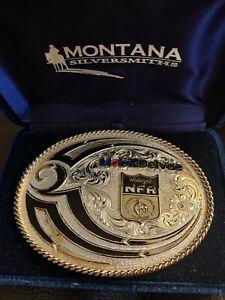 Montana Silversmith Wrangler Nfr Belt Buckle
