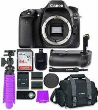 Canon EOS 80D 24.2MP CMOS Full HD Wi-Fi Enabled Digital SLR Camera (Body)