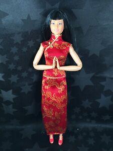Barbie Hybrid OOAK - Asian Lea, Made To Move