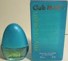 Club Med My Ocean for Her,  Eau de Toilette Spray .33 fl oz w/box - New other