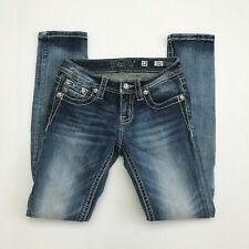 Miss Me JK885652 Distressed Skinny Jeans Girls Size 12