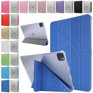Multi fold Leather Smart Cover Case for iPad Mini Pro 11 12.9 Air3 10.5 10.2 9.7