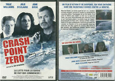 DVD - CRASH POINT ZERO avec TREAT WILLIAMS / NEUF EMBALLE - NEW & SEALED