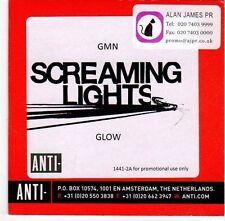 (EM338) Screaming Lights, GMN / Glow - 2008 DJ CD