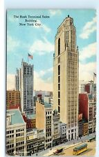 The Bush Terminal Sales Building 42nd Street NYC New York City Postcard B12