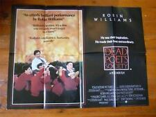 Dead Poets Society ~ Original Quad Poster 1989 ~ Robin Williams / Ethan Hawke
