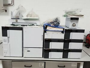 Shimadzu LC 20 Prominence HPLC System CTO-20AC, FRC-10A, SPD-20A, LC-20AD,