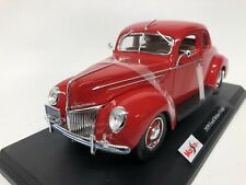 Ford Deluxe Coupe 1939. Maisto . 1/18 Scale. Boxed .