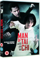 Man of Tai Chi DVD (2014) Keanu Reeves cert 15 ***NEW*** FREE Shipping, Save £s
