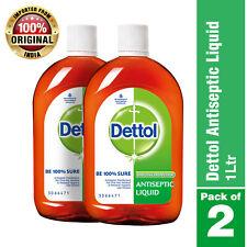 Dettol Liquid Disinfectant 33oz(1000ml) For Multipurpose Germ Protection 2 packs
