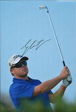George COETZEE SIGNED Autograph 12x8 Photo AFTAL COA South African Golf WINNER