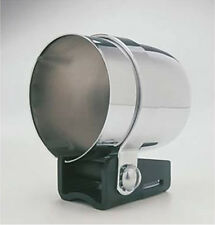 "Autometer Individual Gauge Mounting Cup Pod 2 1/16"" Electric/Mechanical CHROME"