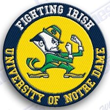 NOTRE DAME FIGHTING IRISH  iron on embroidered PATCH COLLEGE UNIVERSITY SPORTS