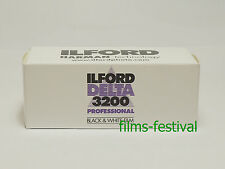 10 rolls ILFORD DELTA 3200 Black and White 120 Film Professtional