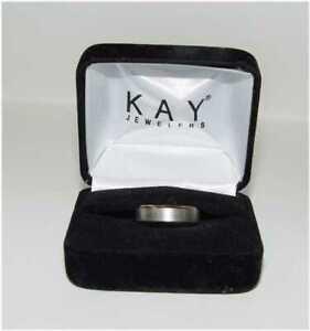 Kay Jewelry Novell 10K White & Rose Gold Wedding Band