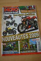 MOTO JOURNAL N°1831 LORIS BAZ KAWASAKI NINJA 250 R ZX-6R BMW F 800 R DUCATI 1198