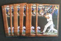 Cal Ripken Jr Baltimore Orioles 2001 Sports Authority lot (10) Baseball Cards