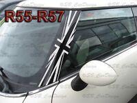 A-Säulen Union Jack Aufkleber Pillar Decal f. BMW MINI COOPER R56 R57 One Works