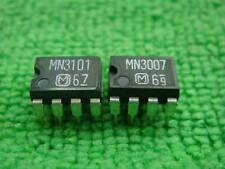 10 PAIA mn3007 + mn3101 chip IC per pedale da effetto parti