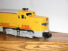 American Flyer Union Pacifc Alco Diesel Engine Lettering and Stripes